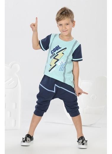 Lupiakids Cool Dude Kapri+Tshirt Takım Renkli